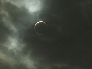 Solar eclipse of May 20, 2012 - Image: 金環日食 in 徳島