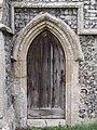 -2018-11-04 Door on south elevation, Saint Giles, Bradfield, Norfolk.JPG
