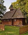 0.2014 Die Kirche Geburt Gottesmuter, 1743 erbaut, Lodzina..JPG