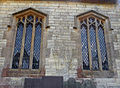 007 Stoke Rochford Ss Andrew & Mary, exterior - north aisle windows.jpg