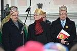 02018 0421 Umzug Heilige Drei Könige in Sanok, Politiker der Regierungspartei Recht und Gerechtigkeit.jpg
