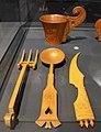 02021 0128 set of flatware; spoon, fork and knife, end of 19th century, Zakopane.jpg
