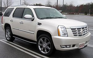 2007-2008 Cadillac Escalade photographed in Ac...
