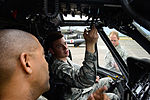 1-228th Aviation Regiment, 612th Air Base Squadron work together during crash rescue training 150115-F-ZT243-014.jpg