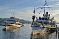 100 Jahre Dampfschiff Stadt Rapperwil - Hafenfest Rapperswil - 'Rosenempfang' - 50 Jahre MS Helvetia 2014-05-23 19-43-55.JPG