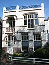 Woonhuis gebouwd onder invloed van de Art Nouveau