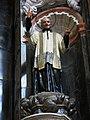 105 Església de Sant Miquel dels Reis (València), altar major, Sant Vicenç de Paül.jpg