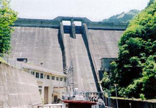 Asahi Dam (Gifu) dam in Gifu Prefecture, Japan.