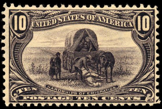 File:10c Hardships of emigration 1898 U.S. stamp.tiff