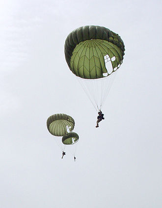 10th Special Forces Group (United States) - Training parachute jump in Mali