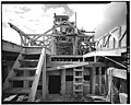 11. CONCENTRATION MILL, FRAMING, LOOKING SOUTHWEST FROM LOWER LEVEL - Kennecott Copper Corporation, On Copper River ^ N - LOC - hhh.ak0003.photos.000984p.jpg