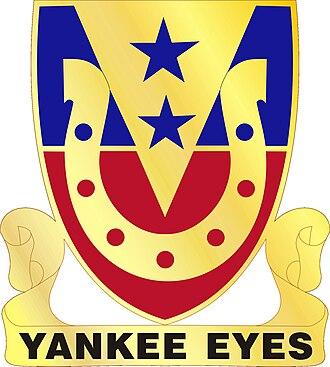 26th Cavalry Regiment - 110th Cavalry Regiment Distinctive Unit Insignia