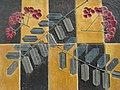 1170 Andergasse 10-12 - Ernest Bevin-Hof Stg 3 - Hauszeichen Eberesche von Heinz Satzinger 1958 IMG 4791.jpg