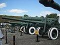122-мм гармата а-19, Площадка військової техніки.JPG