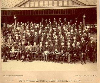Silas Titus - 122 New York Volunteer Regiment reunion