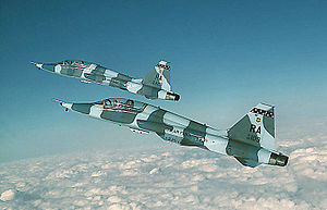 12th Operations Group - Northrop T-38C Talons 68-82109 and 65-10475 of the 560th FTS