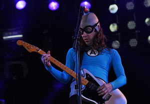 Ian Fowles - Fowles performing with The Aquabats in December 2012.