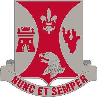 196th Infantry Regiment (United States) - Image: 132 Eng Bn DUI