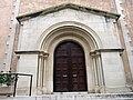 144 Església de Sant Llorenç (Llorenç del Penedès), portalada.JPG