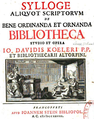 1728 Sylloge aliquot scriptorum Kohler.png