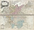 1794 Delarochette Wall Map of the Empire of Germany - Geographicus - Germany-delarochette-1794.jpg