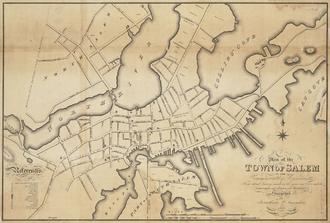 Chestnut Street District - Salem, 1820