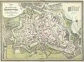 1822 Plan der Residenzstadt Hannover, mit der Angabe der Hausnummern, 400 dpi, kpl.jpg
