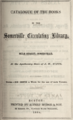 1864 Somerville Circulating Library Massachusetts.png