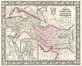 1866 Mitchell Map of Persia, Turkey and Afghanistan (Iran, Iraq) - Geographicus - PersiaAfghanistan-mitchell-1866.jpg