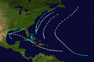1875 Atlantic hurricane season hurricane season in the Atlantic Ocean