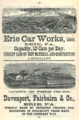 1877 ad Erie PA Poors Manual of Railroads.png