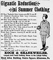 1894 - Koch & Shankweiler Newspaper Ad Allentown PA.jpg