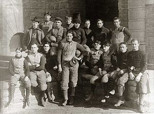 1896 Michigan Wolverines football team - Image: 1896 Michigan football team