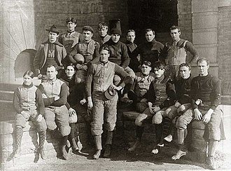 1896 Michigan Wolverines football team - Image: 1896 Michigan football team