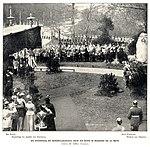 1902-04-20 Wilhelm Höffert Enthüllung des Rosenberg-Denkmals durch Kaiser Wilhelm II. in Hannover.jpg
