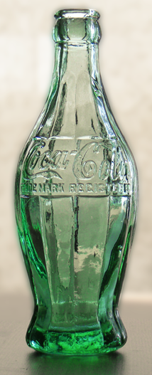 1915 contour Coca-Cola contour bottle prototype