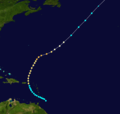 1916 Atlantic hurricane 12 track.png