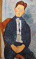 1918 Amedeo Modigliani Junge in gestreiftem Hemd anagoria.JPG