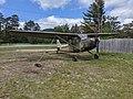 1956 Cessna L-19 Franconia Airport NH Route 116 Franconia NH May 2021.jpg