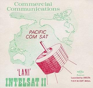 Intelsat II F-1 Communications satellite