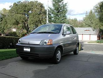 Honda EV Plus - Image: 1997 1999 Honda EV Plus 02
