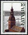 19981023 10sant Latvia Postage Stamp.jpg