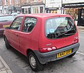 1999 Fiat Seicento Mia Rear.jpg