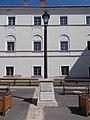 1 Rákóczi Road, lamp post with Péchy and Teleki plaques, 2020 Sárospatak.jpg