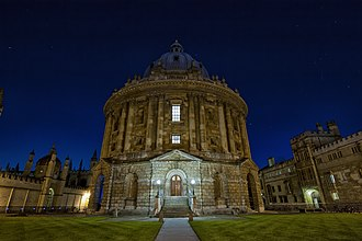 Radcliffe Camera - Night view