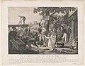 1ere vue d'Aigleville, colonie du Texas ou Champ d'Asile. Occupations des nouveaux colons, Fort Henri, chemin couvert qui mène au fort ed habitation d'un colon LCCN2004670368.jpg
