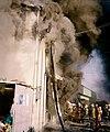 2000년대 초반 서울소방 소방공무원(소방관) 활동 사진 집어 삼킬듯한 연기.jpg