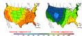 2002-09-20 Color Max-min Temperature Map NOAA.png