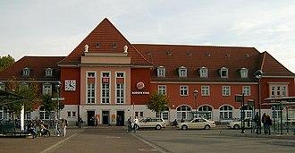 Frankfurt (Oder) station - Entrance building