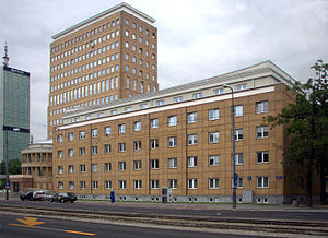 Ministry of Infrastructure (Poland) - The building of the Ministry of Infrastructure.